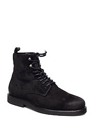 Barkley Mid lace boot - BLACK