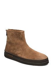 Creek Mid Zip boot - MUD BROWN