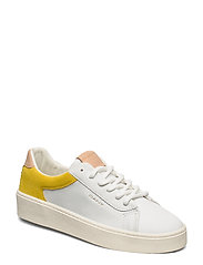 Lagalilly Sneaker - BR. WHT./MIM. YELLOW