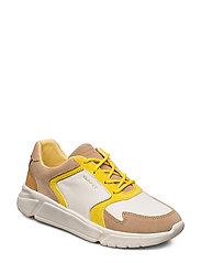 Cocoville Sneaker - BR.WHT./BEIGE/YELLOW