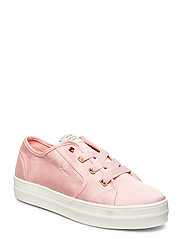 Leisha Low lace shoes - SEASHELL PINK