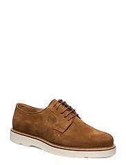Prepburg Low lace shoes - COGNAC