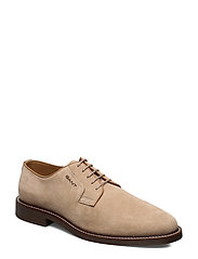 St Akron Low lace shoes - DRY SAND