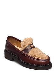 Woodla Low lace shoes - SIENNA BROWN
