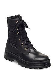 Windpeak Mid lace boot - BLACK