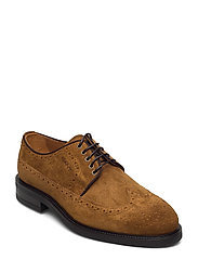 Flairville Low laceshoes - TOBACCO BROWN