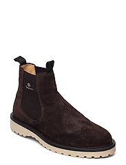 Roden Chelsea boot - DARK BROWN
