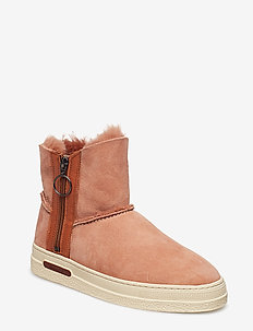 Maria Mid Boot - DUSTY PINK