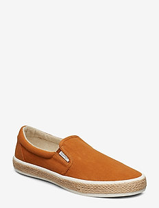 Fresno Slip-on shoes - SPICEBROWN