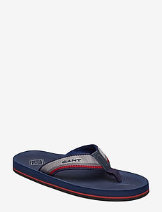 Breeze Flip-Flop - MARINE/GRAY/RED