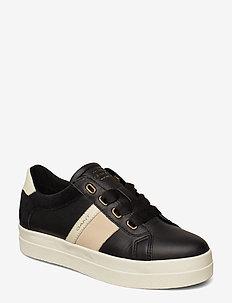 Aurora Low lace shoes - BLACK