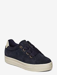 Aurora Low lace shoes - MARINE