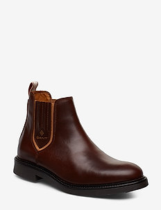 Ashley Chelsea - chelsea boots - sienna brown