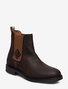 Ashley Chelsea - chelsea boots - dark brown