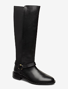 Hampton Long shaft boot - BLACK