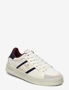 Detroit Low lace shoes - OFF WHITE