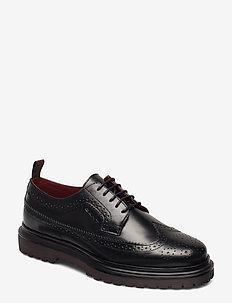 Beaumont Low lace shoes - BLACK
