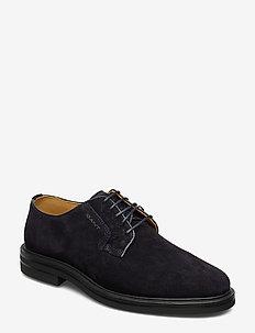 Fargo Low lace shoes - MARINE