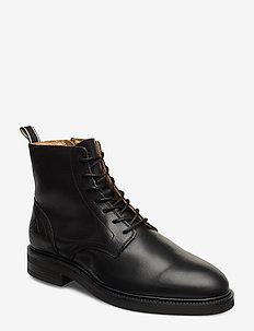 Martin  Mid lace boot - BLACK