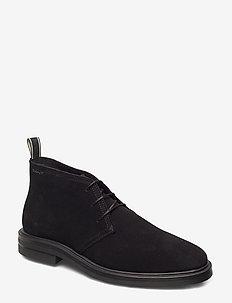 Fargo Mid lace boot - BLACK