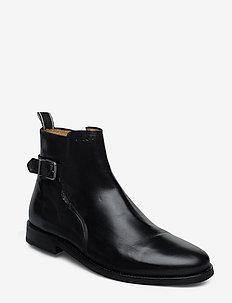 Max Mid Zip boot - BLACK