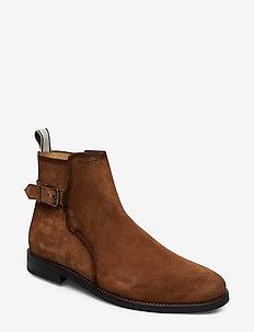 Max Mid Zip boot - bez sznurówek - cognac