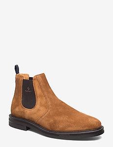 Fargo Chelsea - chelsea boots - cognac