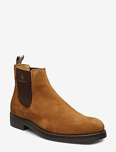 Oscar Chelsea - chelsea boots - cognac
