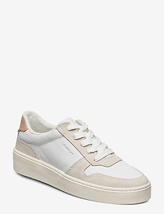 Lagalilly Sneaker - matalavartiset tennarit - br. wht./cream