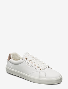 Seaville Sneaker - low top sneakers - br.wht./rose gold