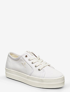 Leisha Low lace shoes - lage sneakers - white