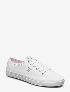 Preptown Low lace shoes - low top sneakers - bright white