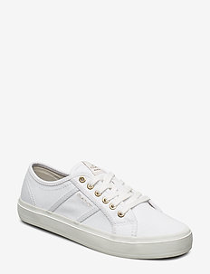 Pinestreet Low laceshoes - laag - white