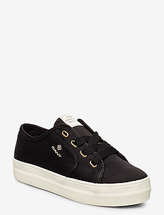 Leisha Low lace shoes - low top sneakers - black
