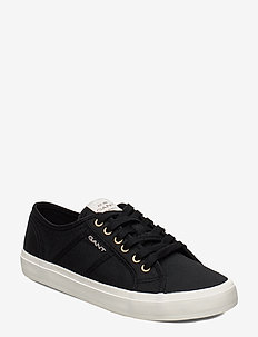 Pinestreet Low laceshoes - BLACK