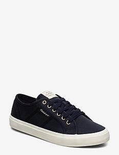 Pinestreet Low laceshoes - low top sneakers - marine