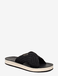 Flatville Sandal - platte sandalen - black