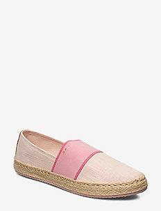 Raffiaville Espadrille - flate espadrillos - seashell pink