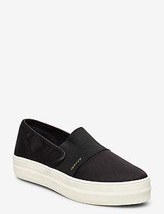 Leisha Slip-on shoes - slip-on sneakers - black