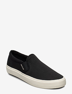 Pinestreet Slip-on shoes - slip on sneakers - black