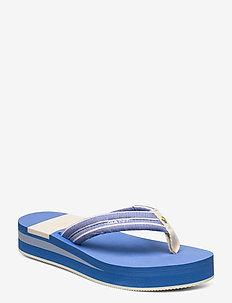 Lemonbeach Flip-Flop - varvassandaalit - capri blue stripes