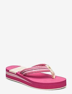 Lemonbeach Flip-Flop - flip-flops - washed rose stripes