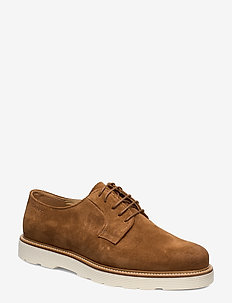 Prepburg Low lace shoes - chaussures lacées - cognac