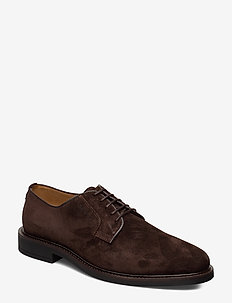 St Akron Low lace shoes - chaussures lacées - dark brown