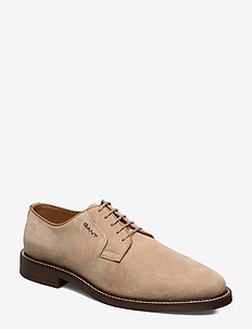 St Akron Low lace shoes - chaussures lacées - dry sand