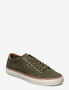 Prepville Low lace shoes - LEAF GREEN