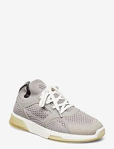 Hightown Sneaker - lav ankel - sleet gray