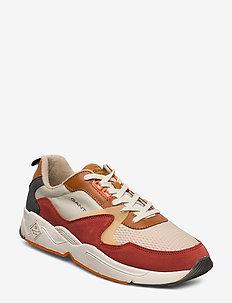 Nicewill Sneaker - low tops - orange multi
