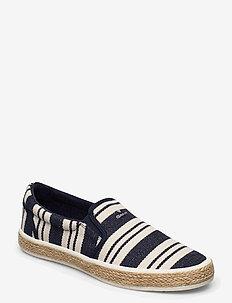 Primelake Slip-on shoes - espadrilles - marine stripes