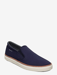 Prepville Slip-on shoes - baskets slip-ons - marine